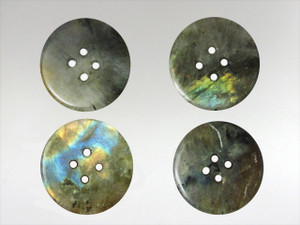 Buttons 20mm - Labradorite