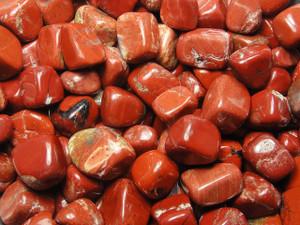 Tumble Stone - Jasper Red 250g