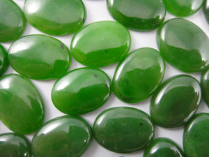 Cabochon 1 Piece 16x22mm - Jade Nephrite