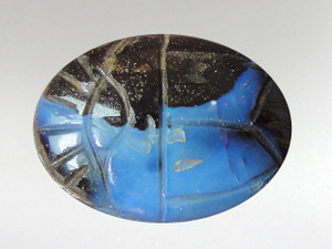 Scarab Cabochon 16x22mm - Boulder Opal 2