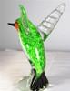Ruby Throated Glass Hummingbird Figurine