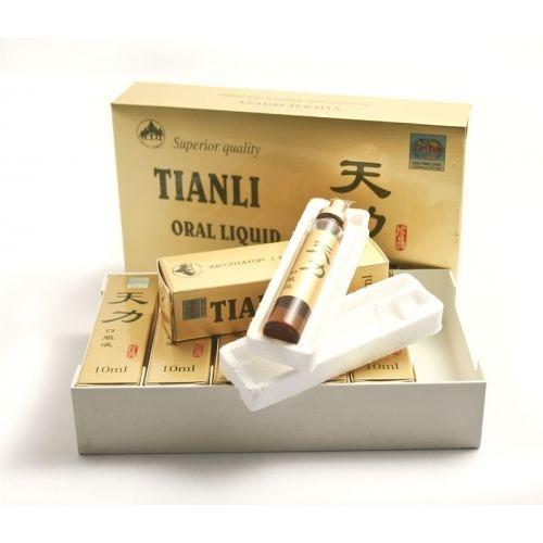 TIANLI ROYAL SECRET LIQUID-STRONG AND LONG ERECTIONS, 6 vials x 10 ml