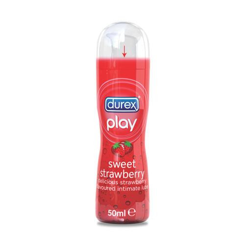 DUREX PLAY INTIMATE TUBE 50ML LUBRICANT SWEET STRAWBERRY/WARMING/TINGLING