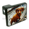 Custom Trailer Hitch Cover - Dachshund
