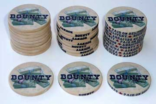 Money Stacks Bounty Poker Chips