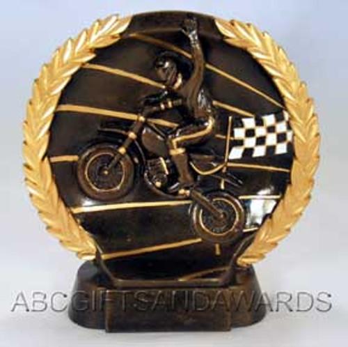 Motocross trophy award