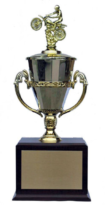 Motocross trophy - roman chalice