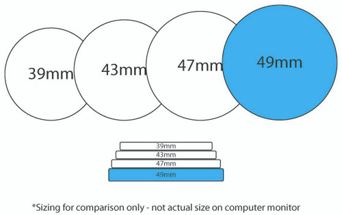 Custom Poker Chip Size Comparison