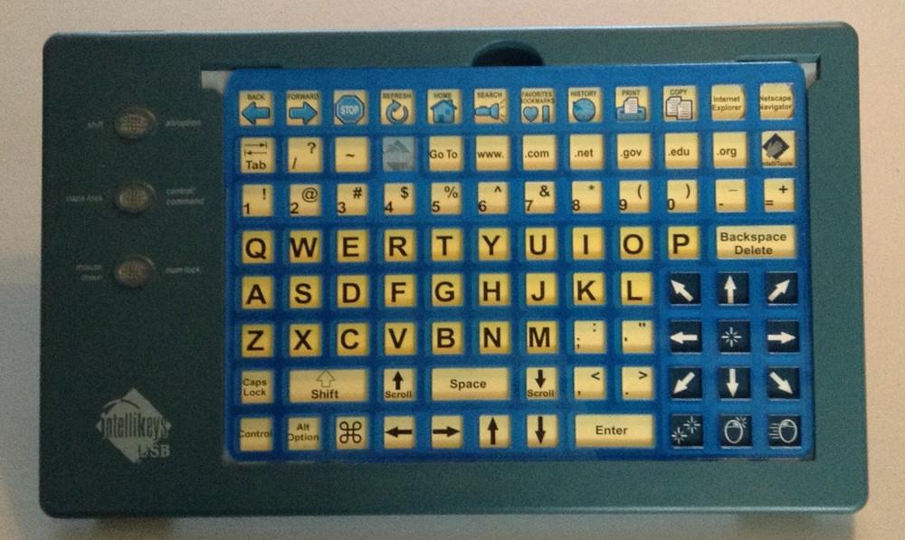 IntelliKeys Keyguard