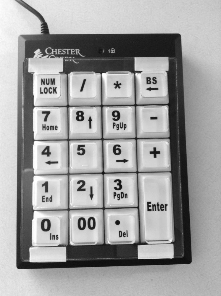 Chester Creek Numeric Keypad Keyguard