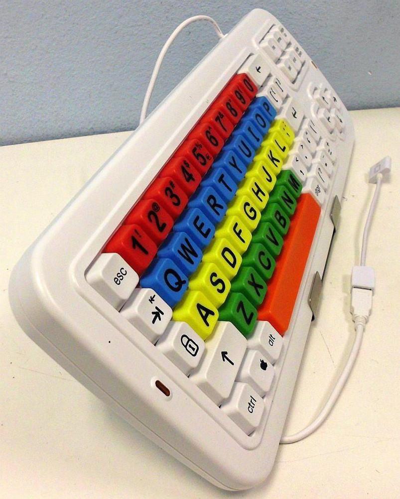 Fits the RJ Cooper LARGEKeys keyboard.