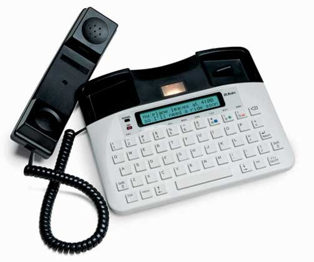 Fits the Uniphone 1140 TTY telephone.