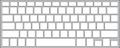 Keyguard for MacBook Pro