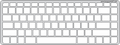 Keyguard for the HP Stream 14 laptop.