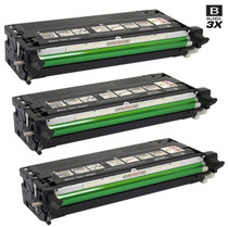 Dell 330-1198 Toner Compatible Cartridge High Yield Black 3 Pack