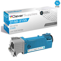 Compatible Dell 331-0716 Toner Cartridge High Yield Cyan