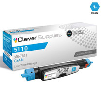 Dell 310-7891 Toner Compatible Cartridge Cyan