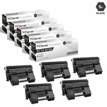 Compatible Okidata 52123601 Laser Toner Cartridges Black 5 Pack