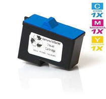 Compatible Dell 7Y745 Ink Remanufactured Cartridge Tri Color