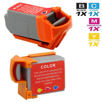 Canon BCI-11 Ink Cartridge Compatible Black and Color - 2 Pack