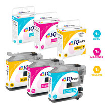 Brother LC103 Premium OEM Quality InkJet Compatible Cartridge High Yield 3 Color Set ( LC103C/ LC103M/ LC103Y)