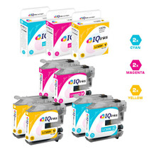 Brother LC103 Premium OEM Quality InkJet Compatible Cartridge High Yield 6 Color Set ( LC103C/ LC103M/ LC103Y)