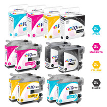 Brother LC103 Premium OEM Quality InkJet Compatible Cartridge High Yield 8 Color Set (LC103BK/ LC103C/ LC103M/ LC103Y)