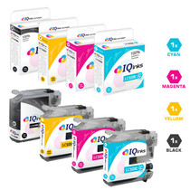 Brother LC103 Premium OEM Quality InkJet Compatible Cartridge High Yield 4 Color Set (LC103BK/ LC103C/ LC103M/ LC103Y)
