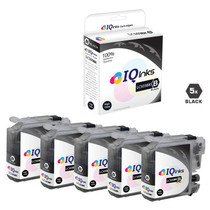 Brother LC103BK Premium OEM Quality InkJet Compatible Cartridge High Yield 5 Black Set