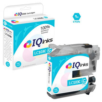 Brother LC103C Premium OEM Quality InkJet Compatible Cartridge High Yield Cyan