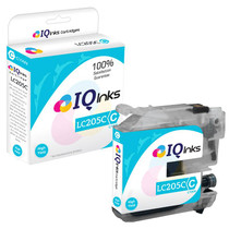 Compatible Brother LC205C Premium Quality InkJet Cartridge Extra High Yield Cyan