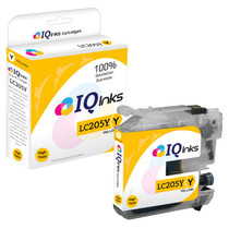 Compatible Brother LC205Y Premium Quality InkJet Cartridge Extra High Yield Yellow
