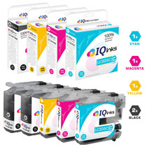 Compatible Brother LC207-LC205 Premium Quality InkJet Cartridge Extra High Yield 5 Color Set (2 x LC207BK/ LC205C/ LC205M/ LC205Y)