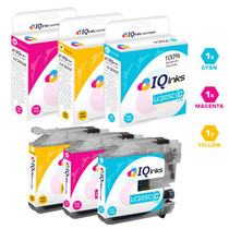 Compatible Brother LC207-LC205 InkJet Cartridge Extra High Yield 3 Color Set (LC205C/ LC205M/ LC205Y)