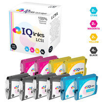 Compatible Brother LC51 Premium Quality InkJet Cartridge 10 Color Set (LC51BK/ LC51C/ LC51M/ LC51Y)