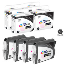 Brother LC51BK Premium OEM Quality InkJet Compatible Cartridge 4 Black Set