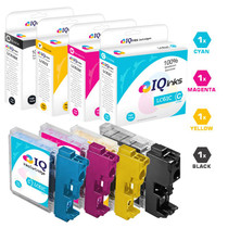 Brother LC61 Premium OEM Quality InkJet Compatible Cartridge 4 Color Set (LC61BK/ LC61C/ LC61M/ LC61Y)