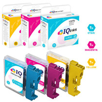 Brother LC61 Premium OEM Quality InkJet Compatible Cartridge 3 Color Set (LC61C/ LC61M/ LC61Y)