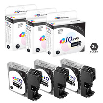 Compatible Brother LC61BK Premium Quality InkJet Cartridge 3 Black Set