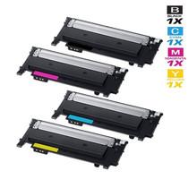 Compatible Samsung C430 Laser Toner Cartridges 4 Color Set