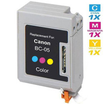 Canon BC-05 Ink Cartridge Remanufactured Tri Color