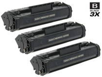Canon FX-3 (1557A002BA) Toner Cartridges Compatible Black 3 Pack