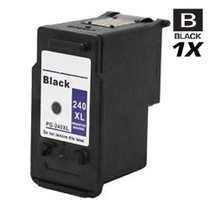 Compatible Canon PG-240XL (5206B001) Ink Cartridge Remanufactured High Yield Black