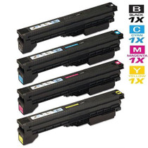 Compatible Canon GPR-20 Premium Quality Toner Cartridges 4 Color Set (1069B001AA/ 1068B001AA/ 1067B001AA/ 1066B001AA)