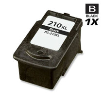 Compatible Canon PG-210XL (2973B001AA) Ink Cartridge Remanufactured High Yield Black