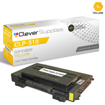 Compatible Samsung CLP-510D5Y Laser Toner Cartridge Yellow