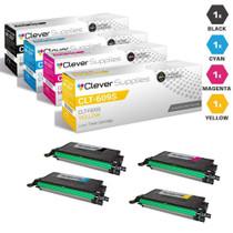 Compatible Samsung CLP-770ND Laser Toner Cartridges 4 Color Set