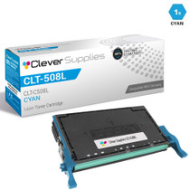 Samsung CLT-C508L Compatible High Yield Laser Toner Cartridge Cyan