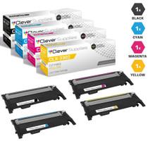 Compatible Samsung CLX-3302 Premium Quality Laser Toner Cartridges 4 Color Set
