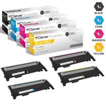 Compatible Samsung CLX-3304 Premium Quality Laser Toner Cartridges 4 Color Set